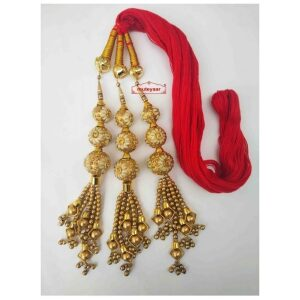 Balls Paranda Parandi Tassles with Red Braid