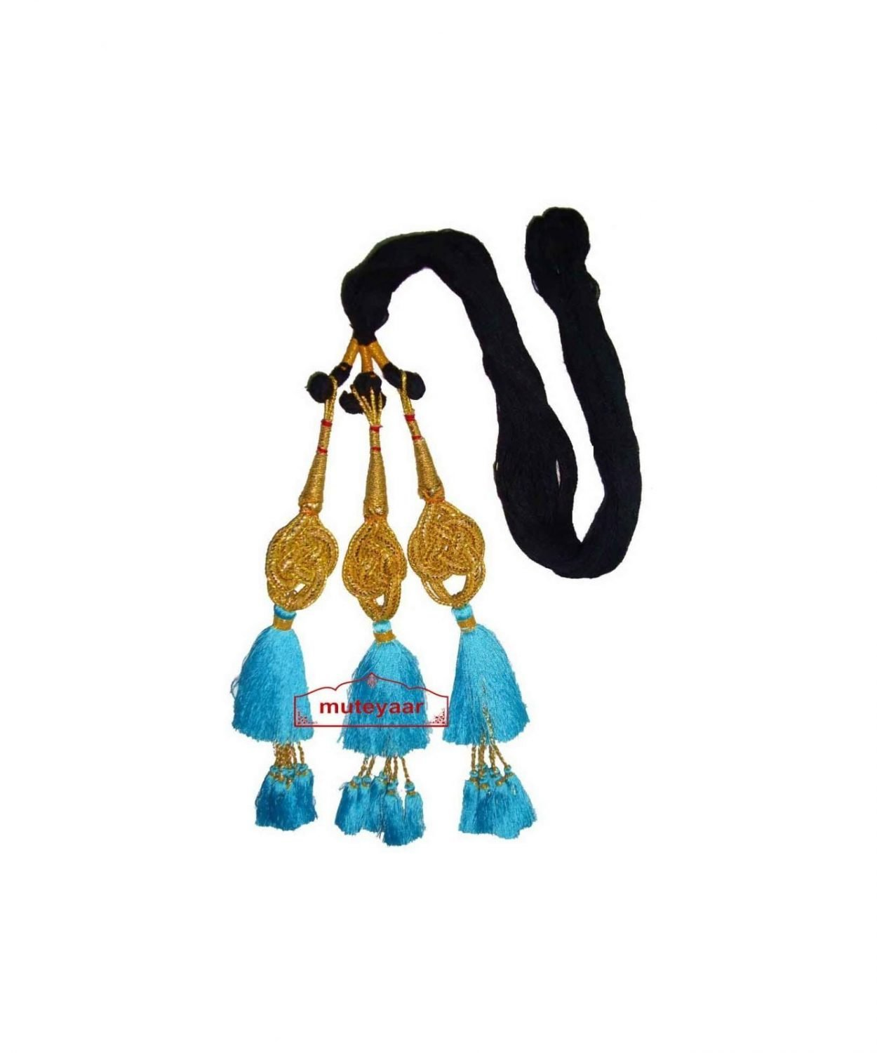 Traditional Punjabi Jalebi ethnic Colorful Paranda parandi to match ur suit 1