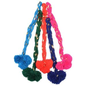Bulk Lot of 5 Luddi Paranda Laddoo Pompom Tassels