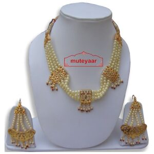 Motihaar Bhangra Giddha Jewelery set of Neclace & Earrrings