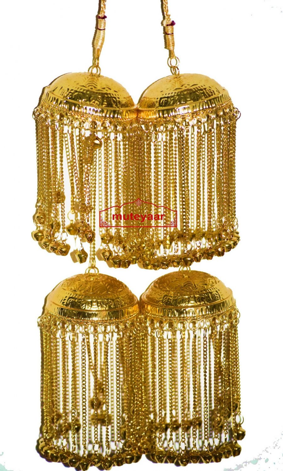 Gold Polished Kalira For Punjabi Wedding J0901 1