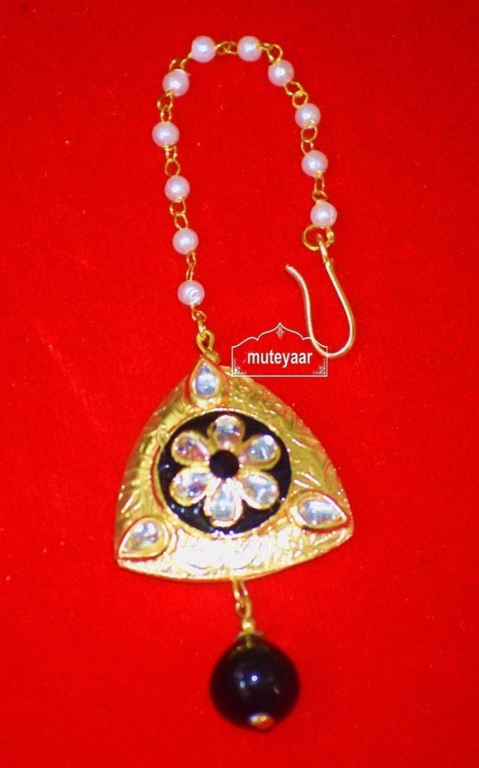 Designer Work Traditional Punjabi Jewellery Maang Tikka J0174 1