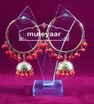 Gold Plated Punjabi Traditional Jewellery Earrings Bali set J0321